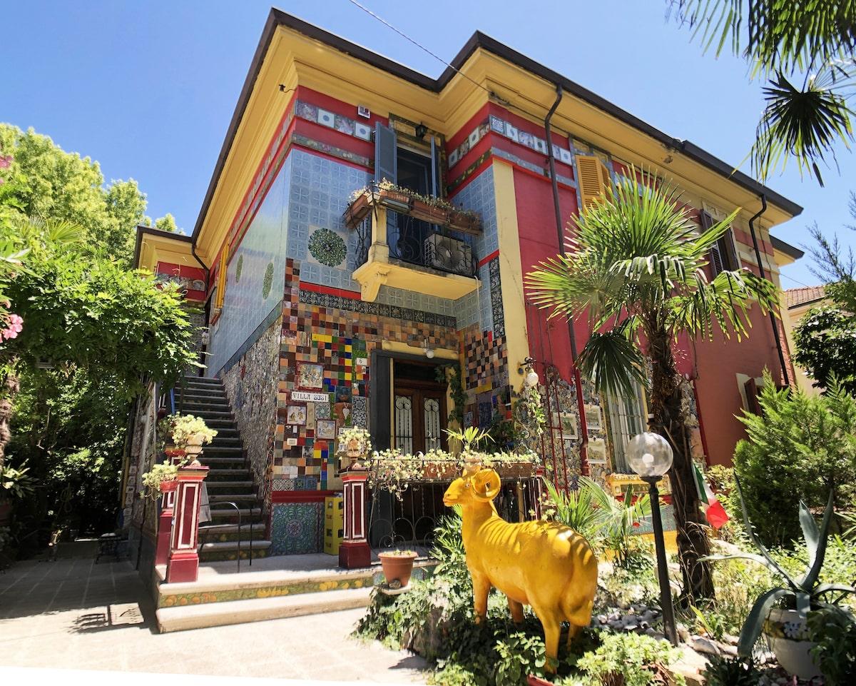 Villa Susi: la bellezza ha preso casa
