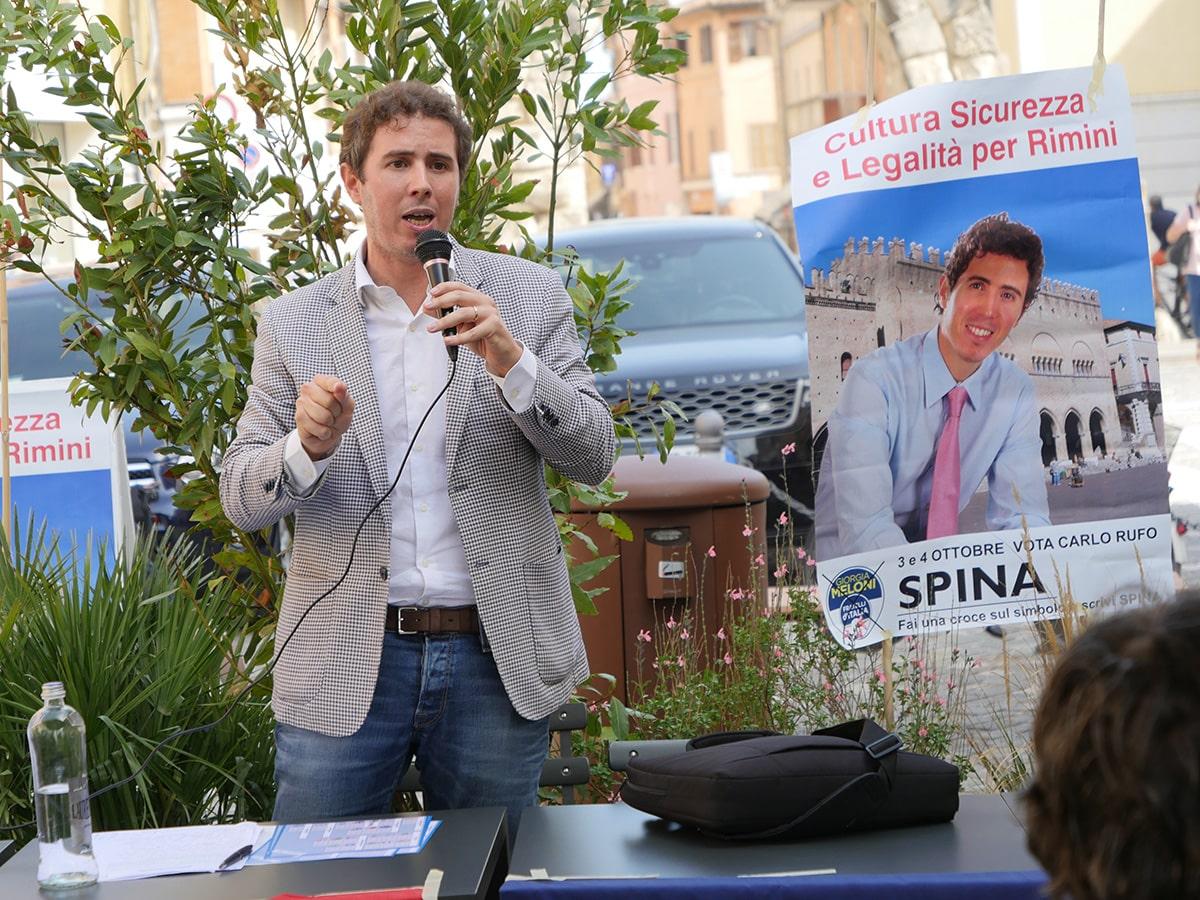 Rufo Spina: «viabilità e parcheggi per far ripartire il centro storico»